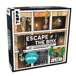 Escape The Box – Die vergessene Pyramide von frechverlag, Frenzel,  Sebastian, Gehrmann,  Kristina, von Lühmann,  Beate