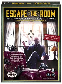 Escape the Room Geheimnis des Refugiums von Bleau,  Rebecca, BlueMatter Games, Carvotta,  Nicholas
