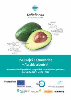 ESF-Projekt KaRaBonita – Abschlussbericht von Alm,  Wolfgang, Hofmann,  Georg R., Imhof,  Andreas, Schubert,  Katrin, Schumacher,  Meike
