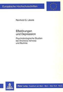 Ess-Störungen und Depression von Laessle,  Reinhold G.