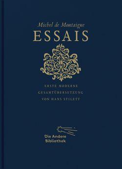 Essais von Montaigne,  Michel de, Stilett,  Hans