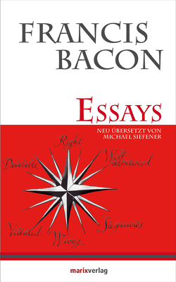 Essays von Bacon,  Francis, Siefener,  Michael