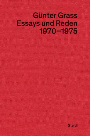 Essays und Reden II (1970–1975) von Frizen,  Werner, Grass,  Günter, Stolz,  Dieter