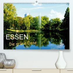 Essen – Die grüne Oase (Premium, hochwertiger DIN A2 Wandkalender 2020, Kunstdruck in Hochglanz) von Joecks,  Armin
