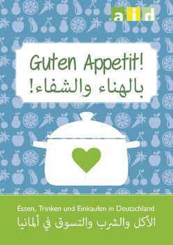 Essen und Trinken in Deutschland – Einkaufshilfe Deutsch/Arabisch im 10er Pack von Koch,  Katharina