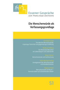Essener Gespräche zum Thema Staat und Kirche, Band 51 von Kämper,  Burkhard, Pfeffer,  Klaus