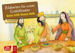 Ester hilft ihrem Volk. Kamishibai Bildkartenset. von Brandt,  Susanne, Lefin,  Petra