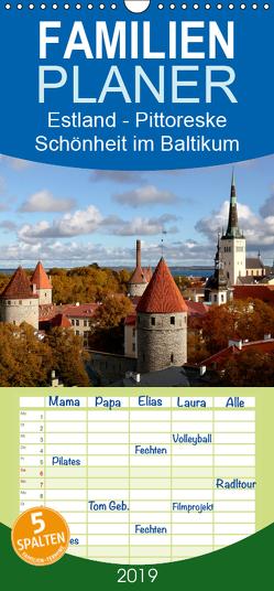 Estland – Pittoreske Schönheit im Baltikum – Familienplaner hoch (Wandkalender 2019 , 21 cm x 45 cm, hoch) von Becker,  Bernd
