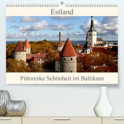 Estland – Pittoreske Schönheit im Baltikum (Premium, hochwertiger DIN A2 Wandkalender 2021, Kunstdruck in Hochglanz) von Becker,  Bernd