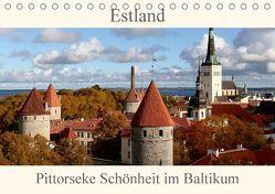 Estland – Pittoreske Schönheit im Baltikum (Tischkalender 2018 DIN A5 quer) von Becker,  Bernd