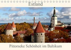 Estland – Pittoreske Schönheit im Baltikum (Tischkalender 2019 DIN A5 quer) von Becker,  Bernd