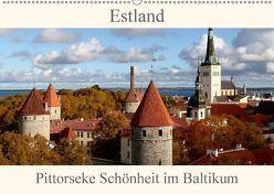 Estland – Pittoreske Schönheit im Baltikum (Wandkalender 2018 DIN A2 quer) von Becker,  Bernd