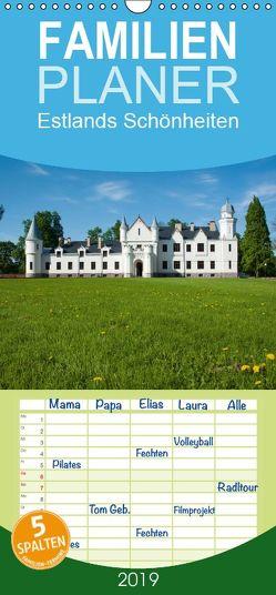 Estlands Schönheiten – Familienplaner hoch (Wandkalender 2019 , 21 cm x 45 cm, hoch) von Scholz,  Frauke