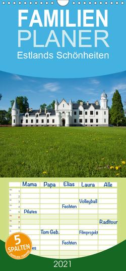 Estlands Schönheiten – Familienplaner hoch (Wandkalender 2021 , 21 cm x 45 cm, hoch) von Scholz,  Frauke
