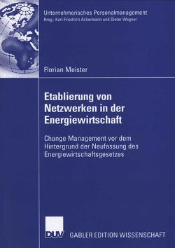 Etablierung von Netzwerken in der Energiewirtschaft von Ackermann und Prof. Dr. Dieter Wagner,  Prof. Dr. Karl-Friedrich, Meister,  Florian