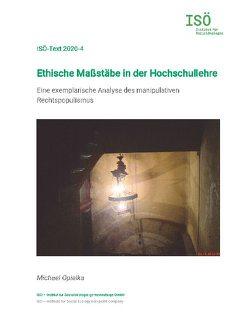 Ethische Maßstäbe in der Hochschullehre von Opielka,  Michael