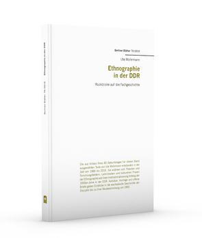 Ethnographie in der DDR von Mohrmann,  Ute