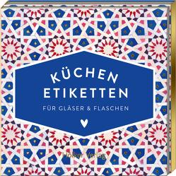 Etiketten für Gläser und Flaschen (Blau, Hölker Küchenpapeterie)