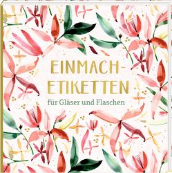 Etikettenbüchlein – Einmach-Etiketten (All about rosé)