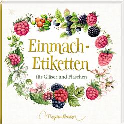 Etikettenbüchlein – Einmach-Etiketten (Marjolein Bastin) von Bastin,  Marjolein