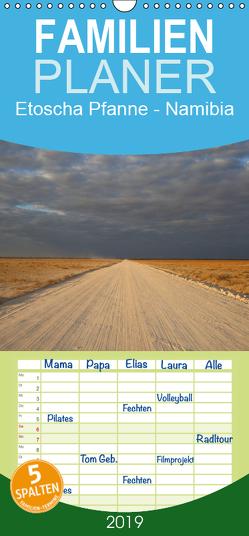 Etoscha Pfanne – Namibia – Familienplaner hoch (Wandkalender 2019 , 21 cm x 45 cm, hoch) von Weise,  Ralf