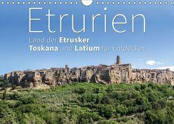 Etrurien: Land der Etrusker – Toskana und Latium für Entdecker (Wandkalender 2019 DIN A4 quer) von Hoffmann,  Monika