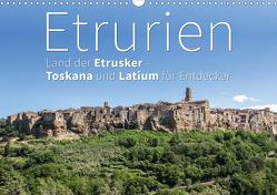 Etrurien: Land der Etrusker – Toskana und Latium für Entdecker (Wandkalender 2021 DIN A3 quer) von Hoffmann,  Monika