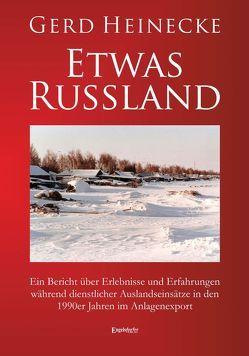 Etwas Russland von Heinecke,  Gerd