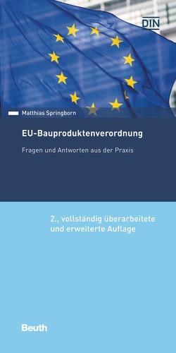EU-Bauproduktenverordnung von Springborn,  Matthias