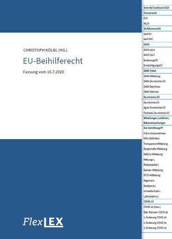 EU-Beihilferecht von Kölbl,  Christoph