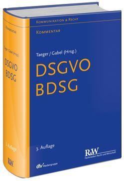 EU-DSGVO von Gabel,  Detlev, Taeger,  Jürgen
