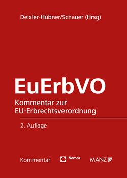 EuErbVO von Deixler-Hübner,  Astrid, Schauer,  Martin