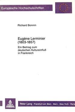 Eugène Lerminier (1803-1857) von Bonnin,  Richard