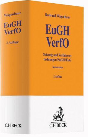 Satzung und Verfahrensordnungen von Wägenbaur,  Bertrand P.