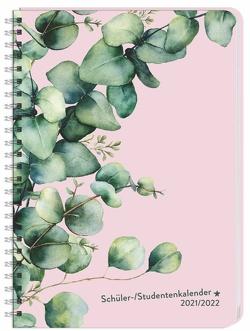 Eukalyptus Schüler-/Studentenkalender A5 Kalender 2022 von Heye