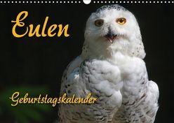 Eulen (Wandkalender 2018 DIN A3 quer) von - Antje Lindert Rottke + Martina Berg,  Pferdografen.de