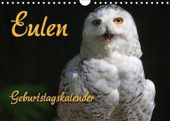 Eulen (Wandkalender 2018 DIN A4 quer) von - Antje Lindert Rottke + Martina Berg,  Pferdografen.de