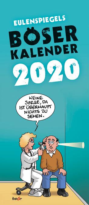 Eulenspiegels Böser Kalender 2020