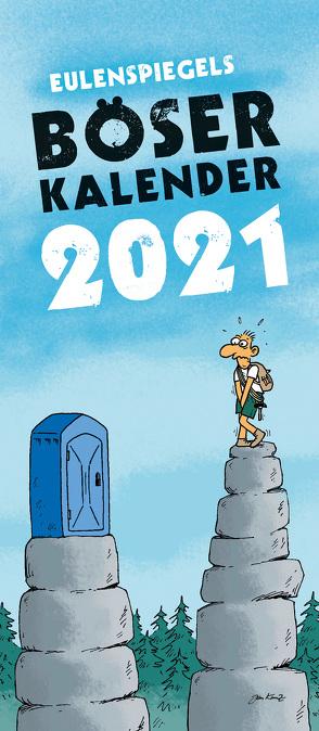 Eulenspiegels Böser Kalender 2021 – VPE 5 Ex.