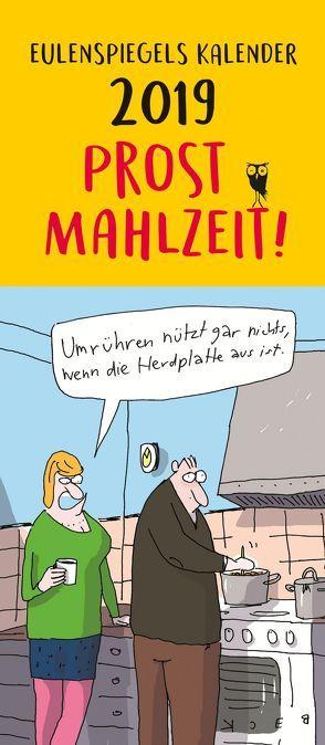 Eulenspiegels Postkartenkalender 2019 Prost Mahlzeit von Lonkowski,  Rolf