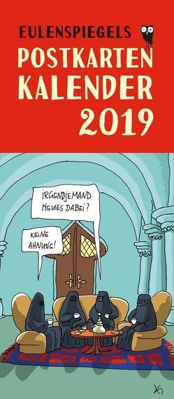 Eulenspiegels Postkartenkalender 2019 von Lonkowski,  Rolf