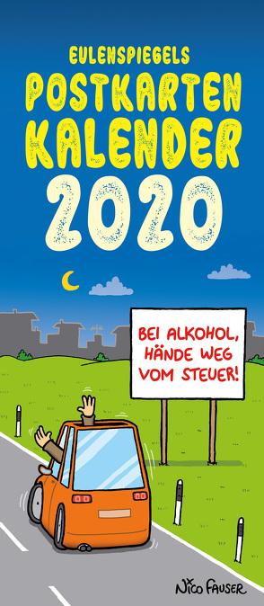 Eulenspiegels Postkartenkalender 2020 VPE 5 Ex.