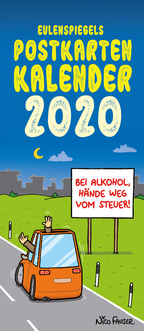 Eulenspiegels Postkartenkalender 2020