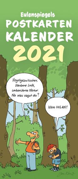 Eulenspiegels Postkartenkalender 2021 – VPE 5 Ex.