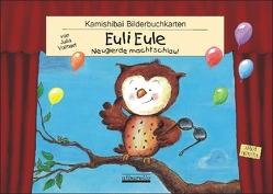 Euli Eule – 12 Bilderbuchkarten fürs Kamishibai im DIN A3 Format! von Volmert,  Julia