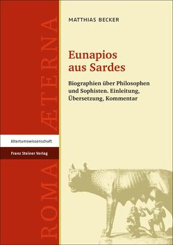 Eunapios aus Sardes von Becker,  Matthias