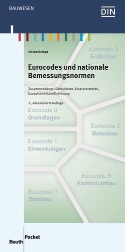 Eurocodes und nationale Bemessungsnormen – Buch mit E-Book von Kempa,  Susan