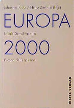 Europa 2000 von Eissel,  Dieter, Klotz,  Johannes, Leaman,  Jeremy, Moquay,  Patrick, Zielinski,  Heinz