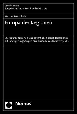 Europa der Regionen von Fritsch,  Maximilian