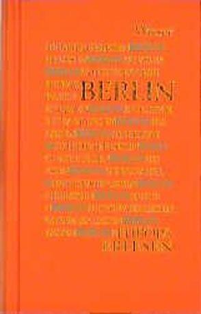 Europa Erlesen Berlin von Niederle,  Helmuth A